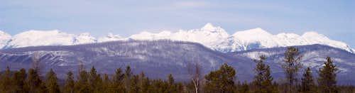 April in Glacier National park