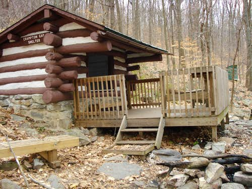 Crampton Gap Shelter