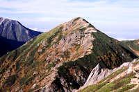 Sharp ridge...