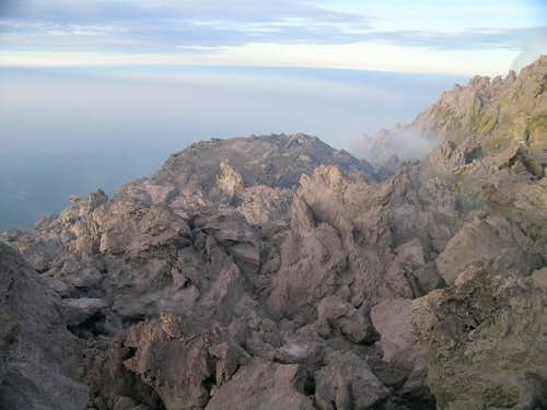 Merapi lava dome