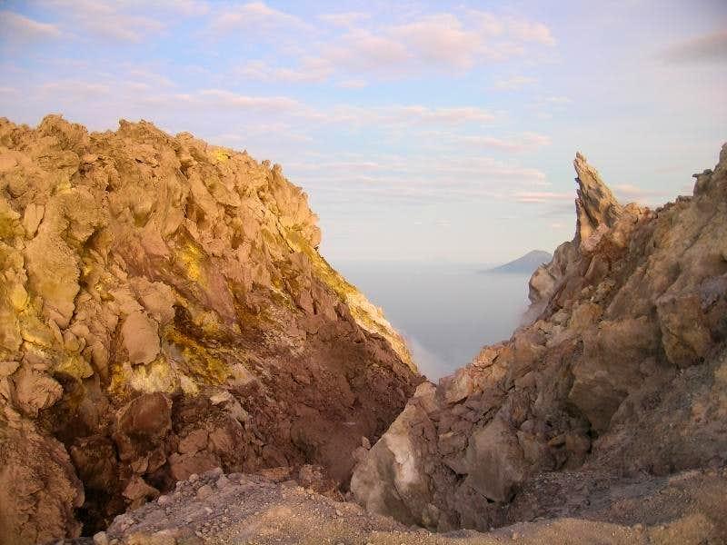 Merapi summits