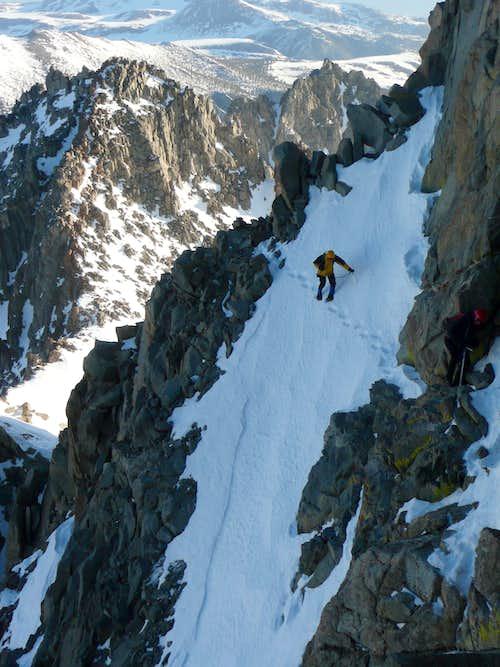 Just above Apex Peak