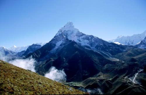 Ama Dablam - seen when...