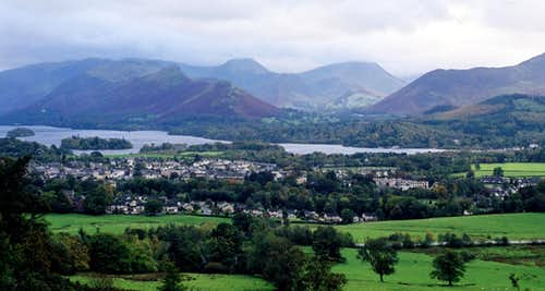 Catbells, Keswick and the Newlands Round