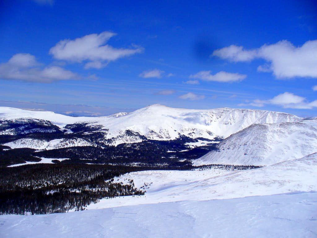 Burro Peaks (12,686 and 12,726)