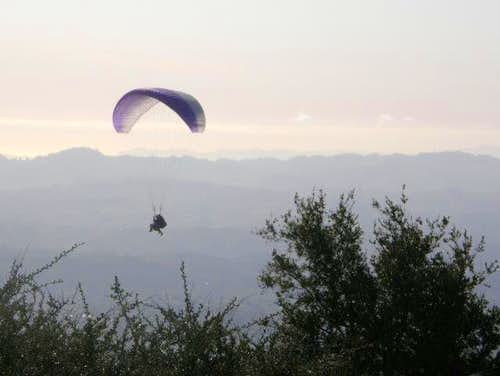 Mt. Diablo Hang Glider