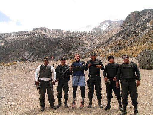 Pico de Orizaba bascamp with Puebla Polica