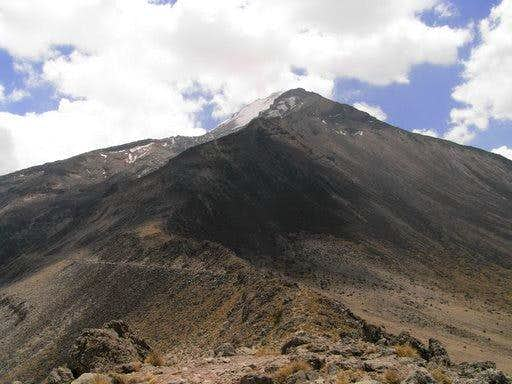 True solo of Pico de Orizaba
