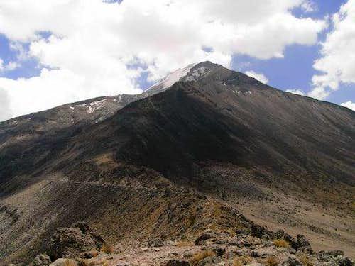 True solo of Pico de Orizaba