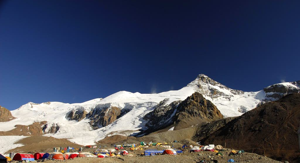 Aconcagua's Base Camp
