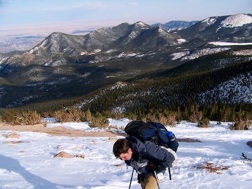 Pikes Peak above treeline
