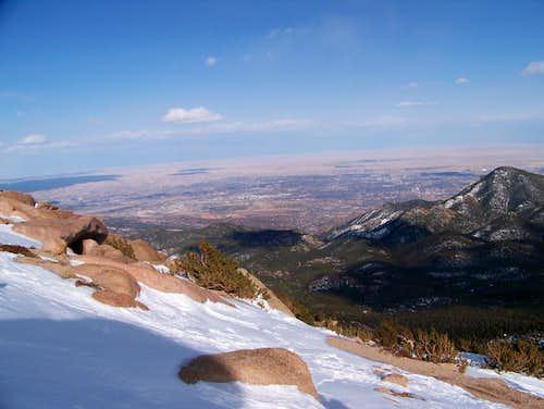 Pikes Peak; 12,700'