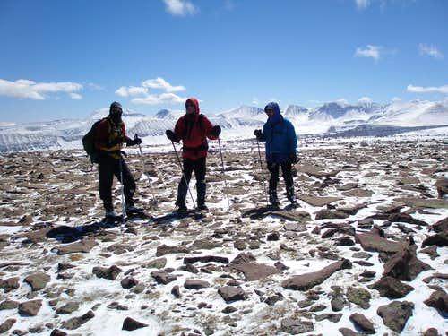 Mike, Rob, and MOCKBA on Coffin Peak