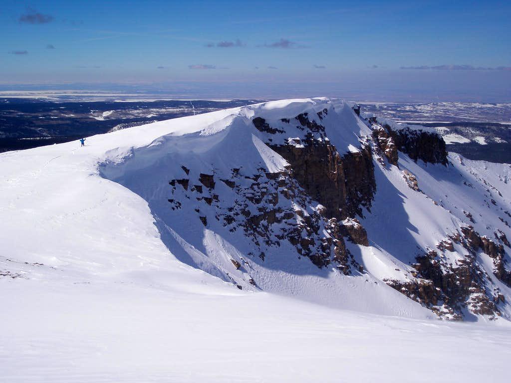 MOCKBA descending Coffin Peak