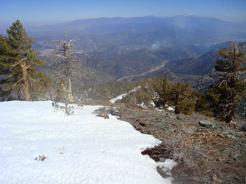 Lytle Creek from Dawson Peak