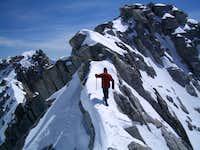 Lone Peak summit ridge
