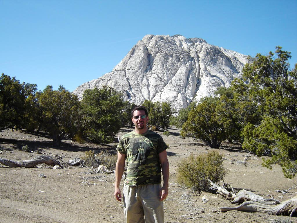 Scott with Crystal Peak