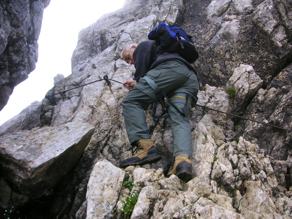 Alpspitz Ferrata North Wall