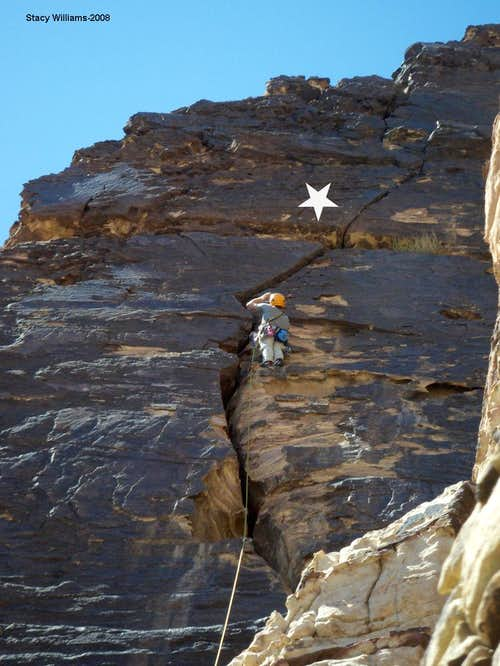 Big Horn, 5.8, 4 Pitches