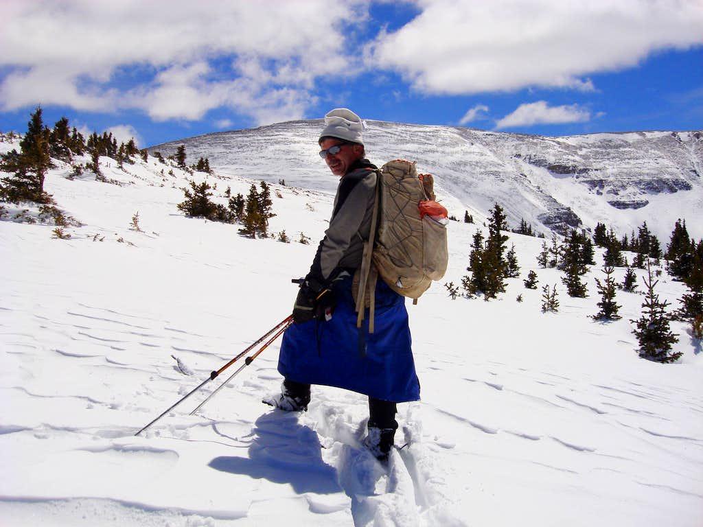 NW Ridge of Coffin Peak