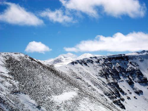 Kings Peak - View from Coffin Ridge