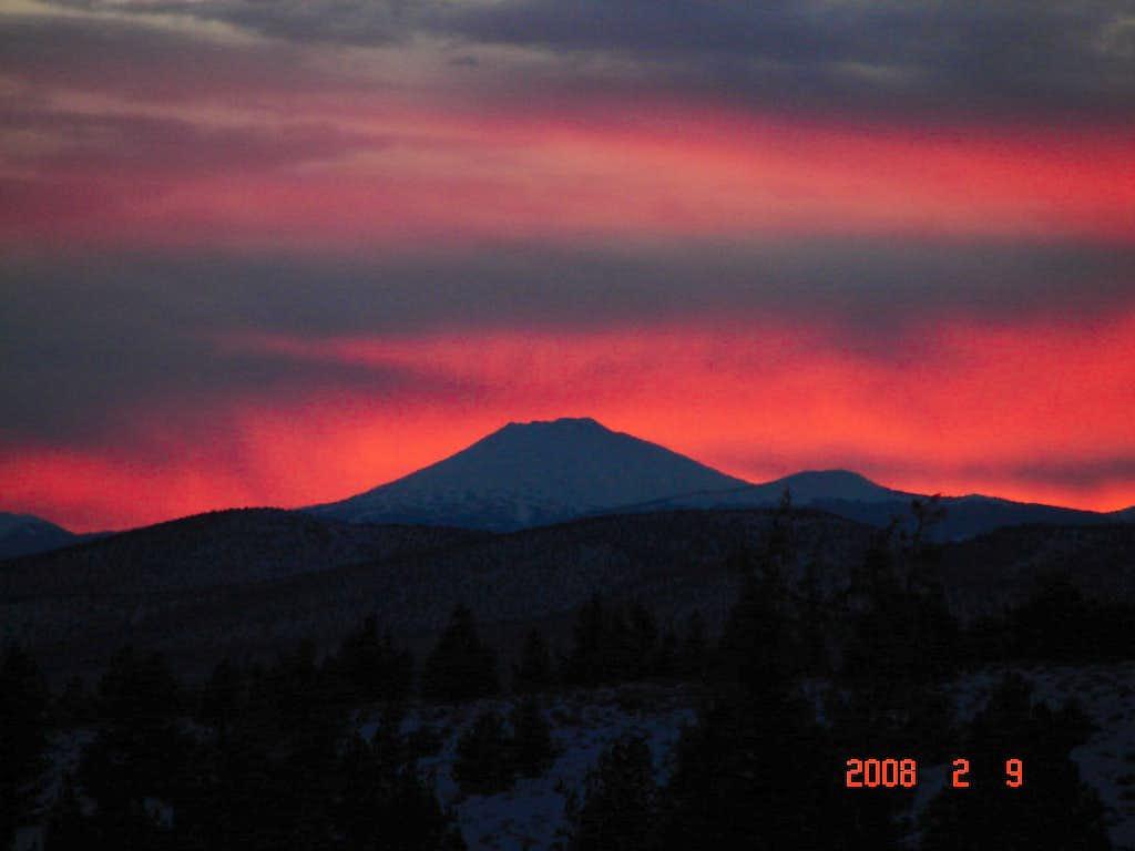 Mt Bachelor Sunset