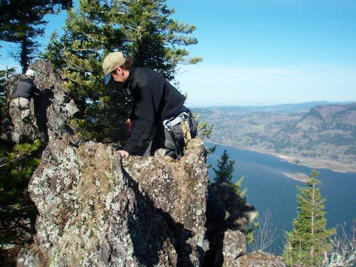 Summit of Big Cougar
