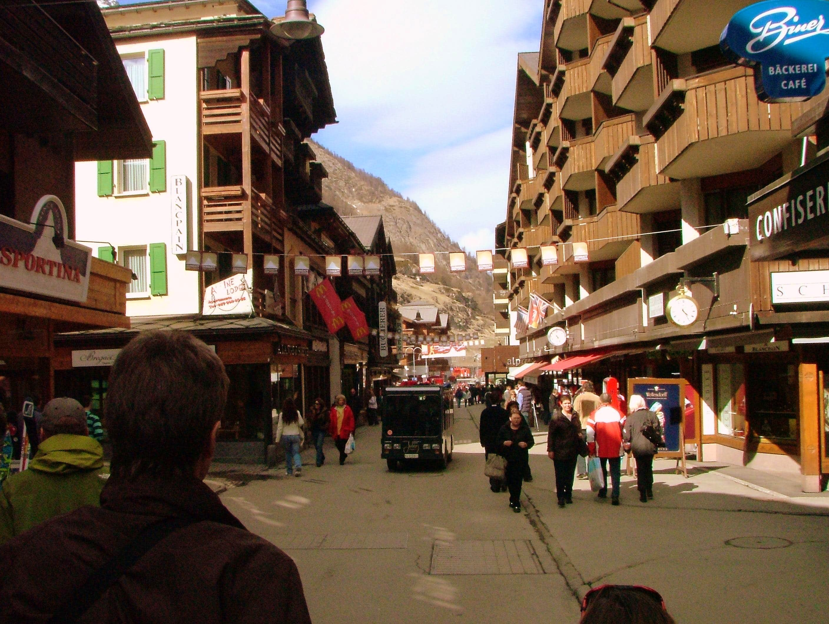 Mountain Towns. Zermatt, Switzerland.