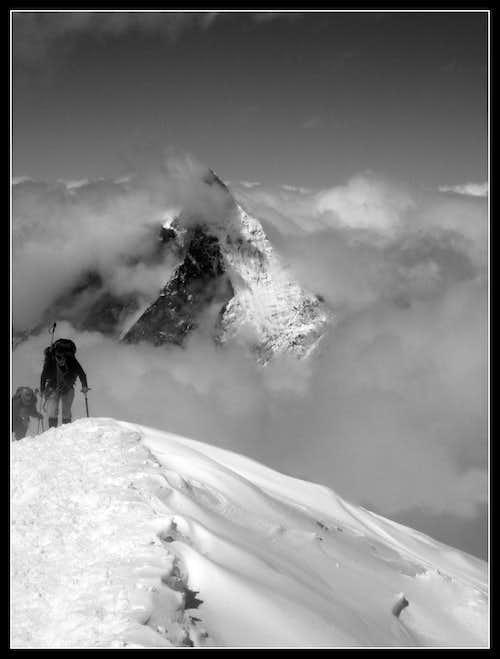 Matterhorn-view from Breithorn