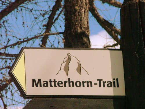 The Matterhorn Trail.