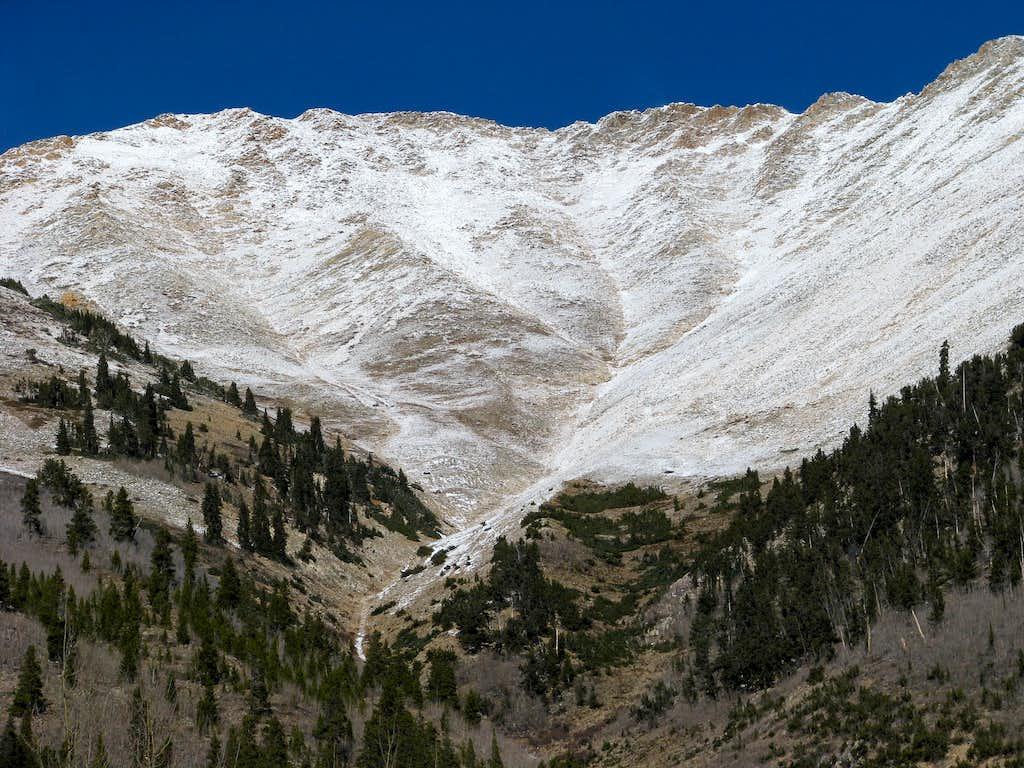 Ervin Peak from Winfield
