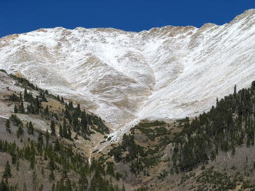 Ervin Peak from Winfield