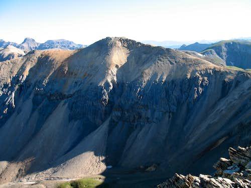 Telluride Peak from UN 13,510