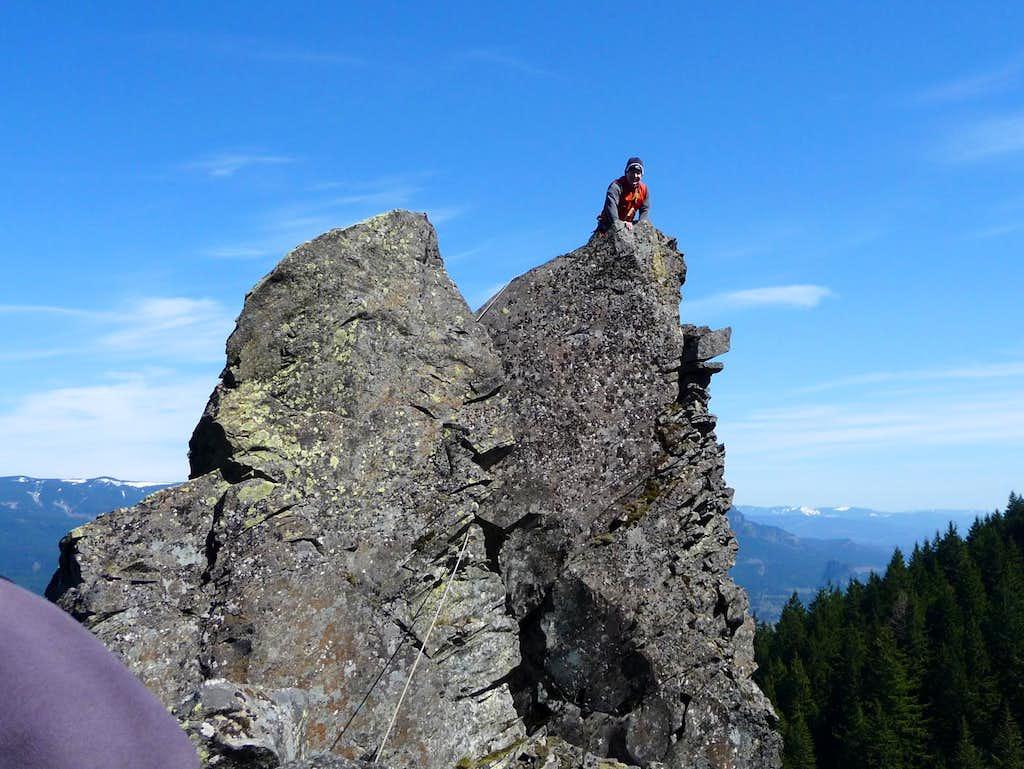 Brians Jenkin's summit shot...