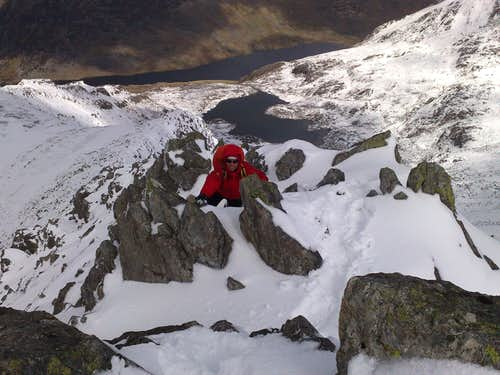 GLYDER FAWR/gribin ridge,wales/