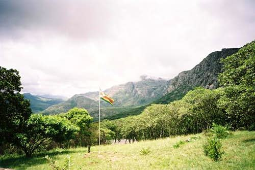 View of the Chimanimani\'s...