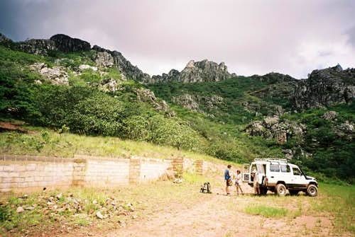 Base camp Chimanimani