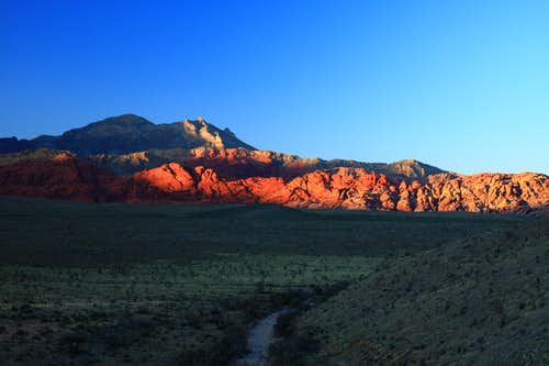 Sunset at Red Rocks S.P.