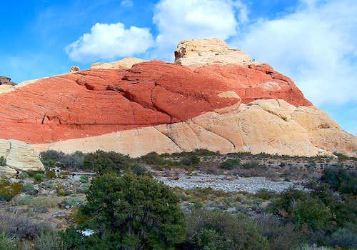 Bouldering in Calico Hills
