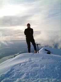 Michael Howes summit shot....