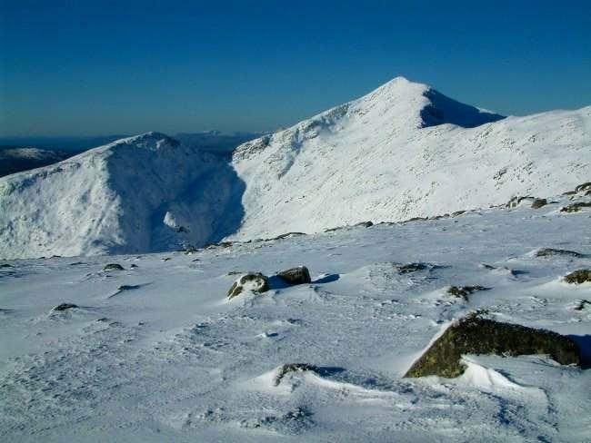 Ben Cruachan from the ridge...