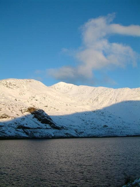 The Cruachan Reservoir as the...