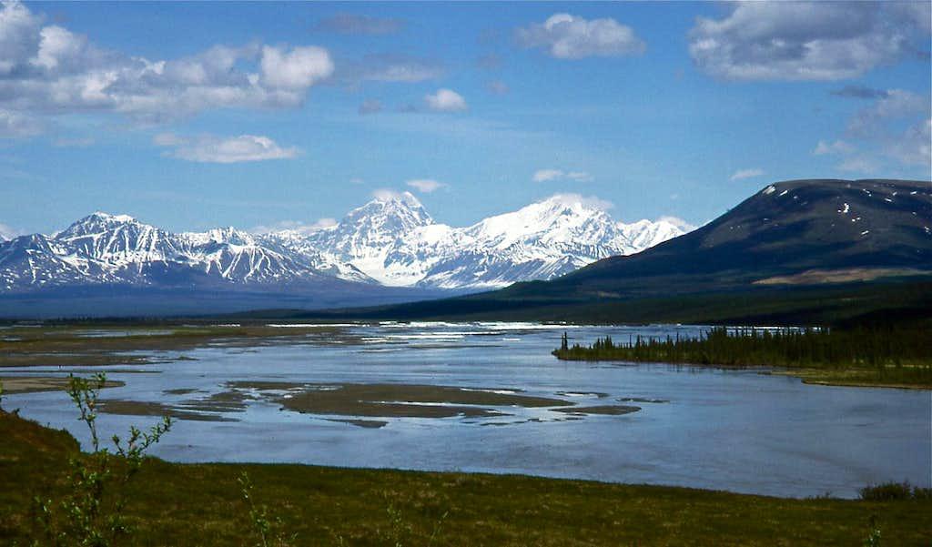 Mt Deborah & Hess Mtn-Alaska Range