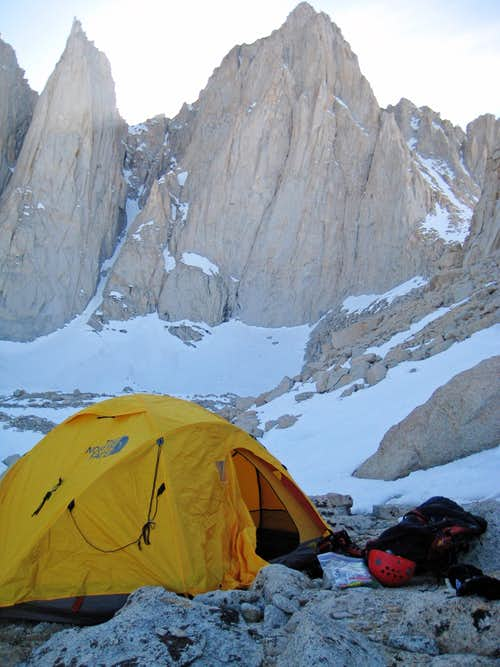 Base Camp below Whitney