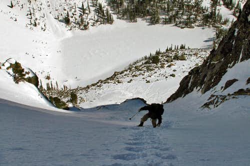 Unknown  Couloir on Hallett Peak
