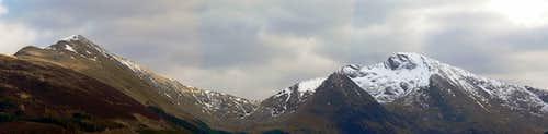 Beinn a'Bheithir Panorama