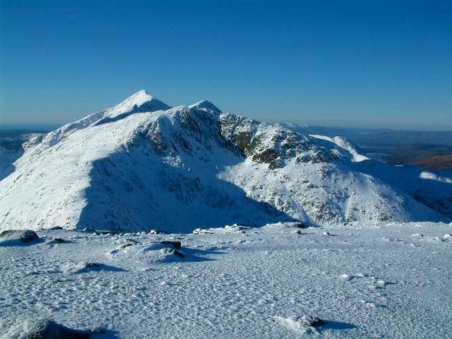 The twin peaks of Cruachan...