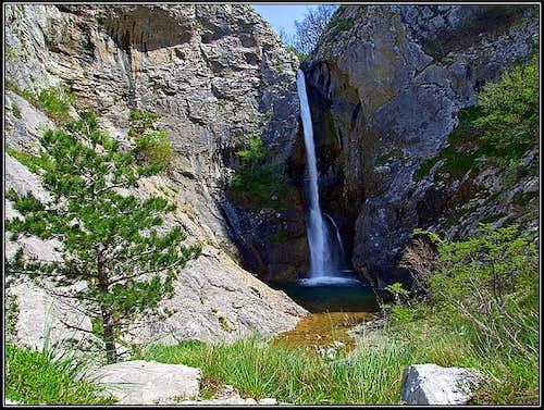 Val Rosandra / Glinscica waterfall