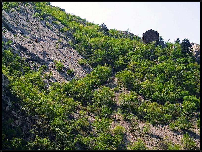 Val Rosandra / Glinscica slabs