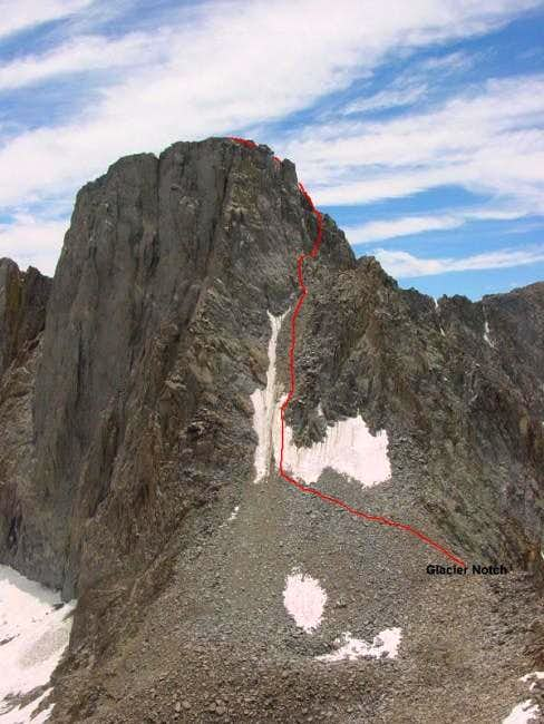 Mt. Sill\'s North Couloir...